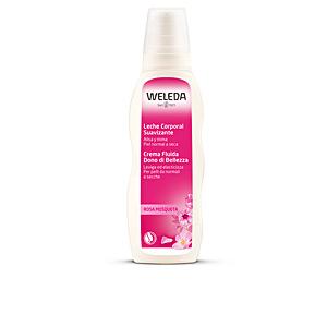 Body moisturiser ROSA MOSQUETA leche corporal suavizante Weleda