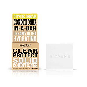 Hair repair conditioner CITRUS DREAM CLEAR PROTECT solid conditioner bar Biovene