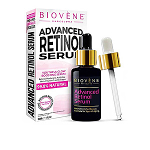Cremas Antimanchas ADVANCE RETINOL SERUM youthful glow boostin serum Biovene