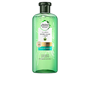 Shampoo for shiny hair BOTANICALS ALOE & HEMP champú Herbal Essences