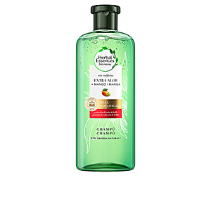 Shampoo for shiny hair BOTANICALS ALOE & MANGO champú Herbal Essences