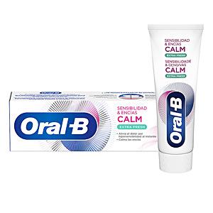 SENSIBILIDAD & ENCÍAS CALM extra fresh dentífrico 75 ml