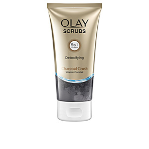 Exfoliante facial SCRUBS detoxifying charcoal crush Olay