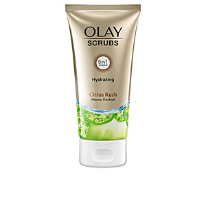 Exfoliante facial SCRUBS hydrating citrus rush Olay