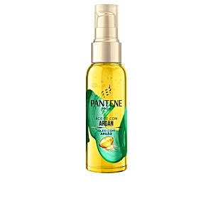 Tratamiento alisador SUAVE Y LISO ARGAN aceite seco Pantene