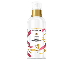 Hair styling product SWEET MESS spray texturizante de azúcar Pantene