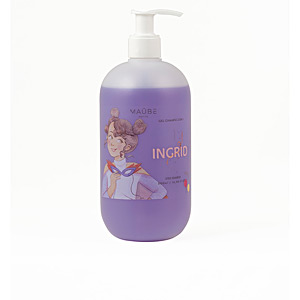 Haircare for kids - Moisturizing shampoo - Hygiene for kids - Shower gel - Hand soap INGRID gel  champú 2 en 1 Maûbe