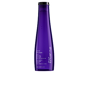 Shampoo for shiny hair YUBI BLONDE luminosity revealing shampoo Shu Uemura