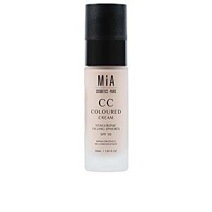 CC Cream  CC COLOURED CREAM SPF30 Mia Cosmetics Paris