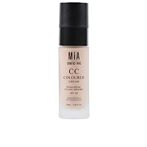 CC-Creme  CC COLOURED CREAM SPF30 Mia Cosmetics Paris