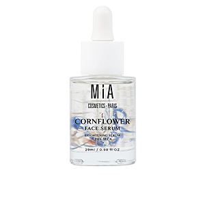 Flash effect CORNFLOWER FACE SERUM brightening serum Mia Cosmetics Paris