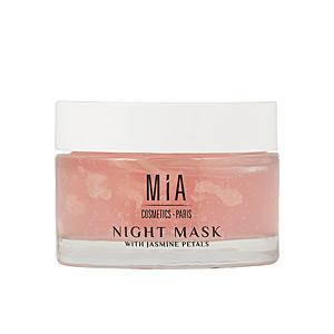 Mascarilla Facial NIGHT MASK with jasmine petals Mia Cosmetics Paris