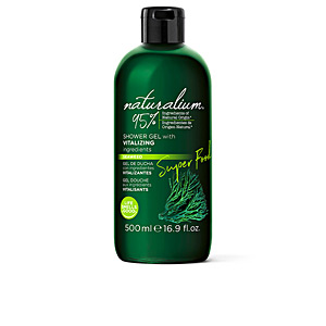 Seife SUPER FOOD seaweed vitalizing shower gel Naturalium