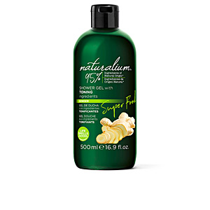 Jabón perfumado SUPER FOOD ginger toning shower gel Naturalium