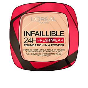 Polvo compacto INFALLIBLE 24H fresh wear foundation compact L'Oréal París