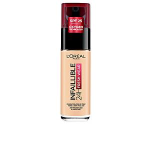 Fondation de maquillage INFALLIBLE 24H fresh wear liquid foundation SPF25 L'Oréal París