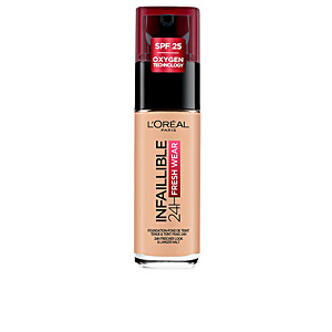 Base de maquillaje INFALLIBLE 24H fresh wear liquid foundation SPF25 L'Oréal París
