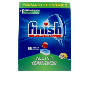 Dishwasher detergent FINISH POWERBALL ALL IN ONE lavavajillas limón pastillas Finish