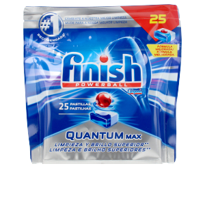 Dishwasher detergent FINISH POWERBALL QUANTUM lavavajillas pastillas Finish