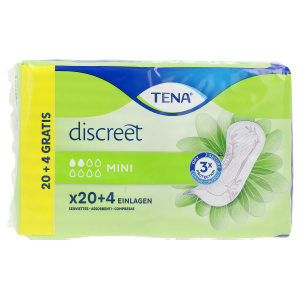 Compress DISCREET compresa incontinencia mini Tena Lady