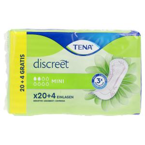 Garze DISCREET compresa incontinencia mini Tena Lady