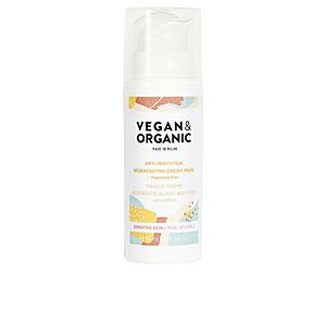 Face mask ANTI-IRRITATION REGENERATING cream-mask sensitive skin Vegan & Organic