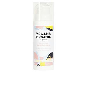Face mask INSTANT GLOW PEELING mask-cream all skin types Vegan & Organic