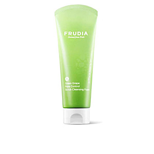 Face scrub - exfoliator GREEN GRAPE pore control scrub cleansing foam Frudia