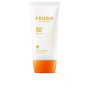 Facial SUN CREAM tone up base brightening SPF50+ Frudia