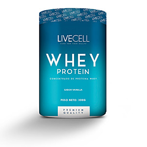 Whey concentrate WHEY PROTEIN concentrado #vainilla Livecell