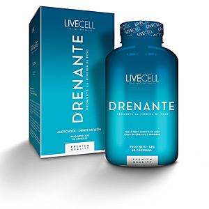 Bloqueador de grasas DRENANTE promueve la pérdida de peso cápsulas Livecell