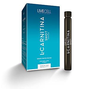 Otros aminoácidos L-CARNITINA shots viales #frutos rojos Livecell