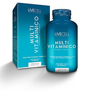 Vitamine MULTI VITAMÍNICO vitaminas &minerales cápsulas Livecell