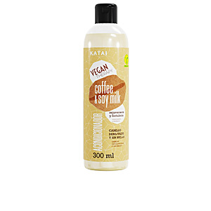 Shiny hair products - Hair repair conditioner COFFEE & SOY MILK LATTE acondicionador Katai