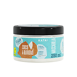 Hair mask for damaged hair COCONUT & ALMOND CREAM mascarilla Katai