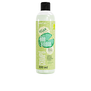 Shampoo for shiny hair - Moisturizing shampoo - Purifying shampoo LEMON & LIME SORBET champú Katai