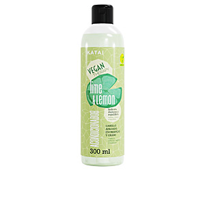 Shiny hair products - Hair repair conditioner LEMON & LIME SORBET acondicionador Katai