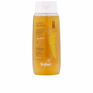 Anti-dandruff shampoo - Purifying shampoo AZUFRE champú antigrasa anticaspa vegano Lixone