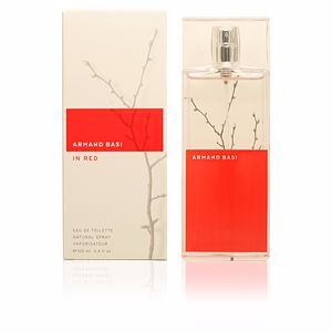 IN RED eau de toilette spray 100 ml