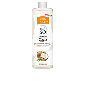 Body moisturiser COCO ADDICTION OIL & GO aceite corporal Natural Honey