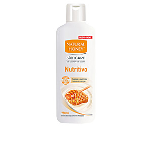 Shower gel DERMO NUTRITIVO gel baño ducha Natural Honey
