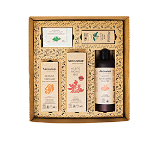 Skincare set - Hair gift set VALENTINE´S BOX OF LOVE SET Arganour