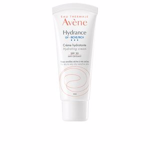 Face moisturizer HYDRANCE OPTIMALE UV riche crème hydratante PSS SPF30 Avène