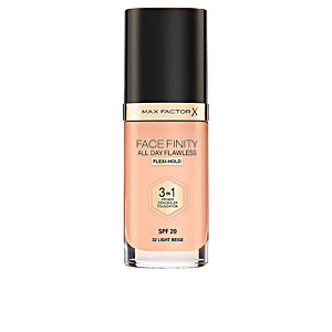 Foundation makeup - Concealer makeup - Foundation makeup FACEFINITY 3IN1 primer, concealer & foundation Max Factor