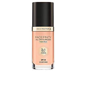 Prebase maquillaje - Base de maquillaje - Corrector maquillaje FACEFINITY 3IN1 primer, concealer & foundation Max Factor