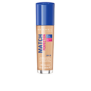 Fondotinta MATCH PERFECTION foundation Rimmel London