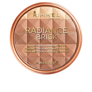 Polvos bronceadores RADIANCE BRICK multi-tonal shimmer powder Rimmel London