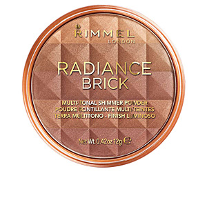 Poudres bronzantes RADIANCE BRICK multi-tonal shimmer powder Rimmel London
