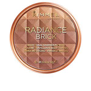 Bronzing powder RADIANCE BRICK multi-tonal shimmer powder Rimmel London