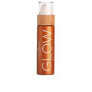 Body moisturiser GLOW shimmer oil Cocosolis